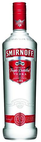 Smirnoff Vodka Red No 21 80@